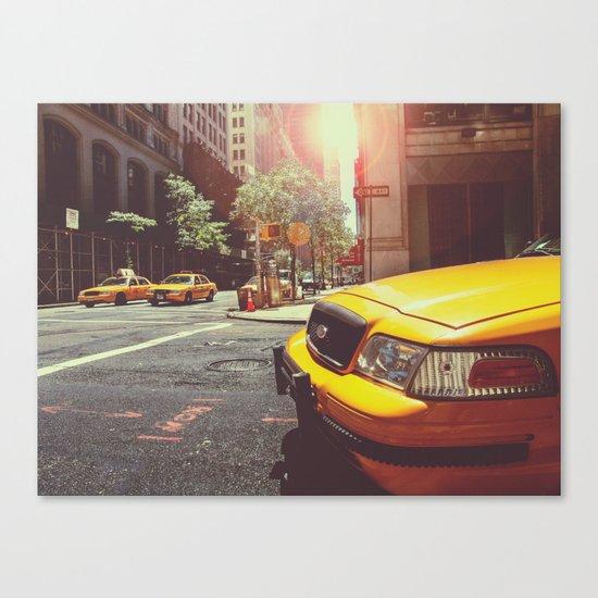 NYC Taxi Cab Canvas Print