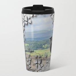 Cracked Up View Travel Mug