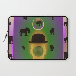 ODE TO MAGRITTE Laptop Sleeve
