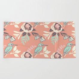 Silvestre bird Beach Towel