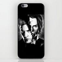 winchester iPhone & iPod Skins featuring Winchester Bros. by ArtisticCole