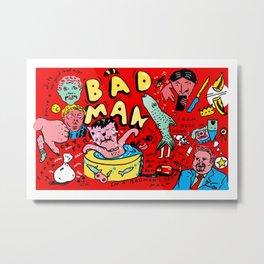 BAD Metal Print