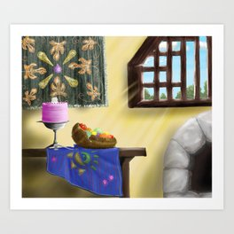 La Cucina Art Print
