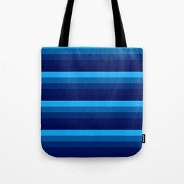 Blue stripes Tote Bag