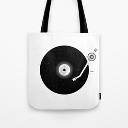 The Music of the Moon and the Stars Tote Bag