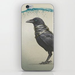 Raven Band iPhone Skin