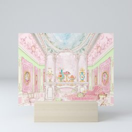 Paris Pink Patisserie Mini Art Print