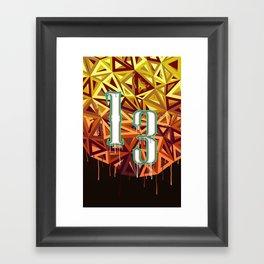13 v2 Framed Art Print