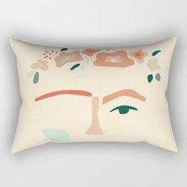 inspired by frida Rectangular Pillow