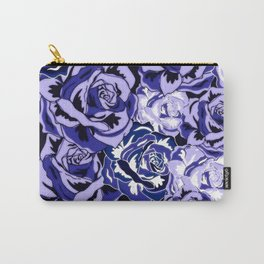 Beautiful Violet Roses Carry-All Pouch
