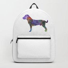 Harrier dog in watercolor Backpack