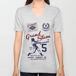 Varsity Baseball Team - Grand Slam Unisex V-Neck