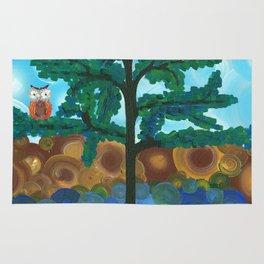 Art by MiMi Stirn - Owl Singles #338 Rug