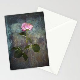Single Wilted Rose Stationery Cards