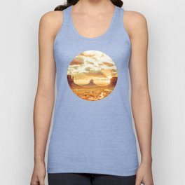 Monument Valley Sunrise Unisex Tank Top