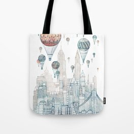 Voyages Over New York ~Refresh Tote Bag