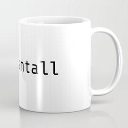 npm isntall Coffee Mug