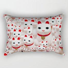 Lucky Cats Rectangular Pillow
