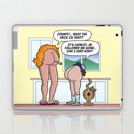 JIMMY'S CAT-BUTT! Laptop & iPad Skin