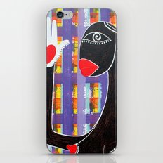 MAMMA AFRICA-CUORE IN MANO iPhone & iPod Skin