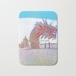Anza - Borrego Desert Sea Dragon Bath Mat