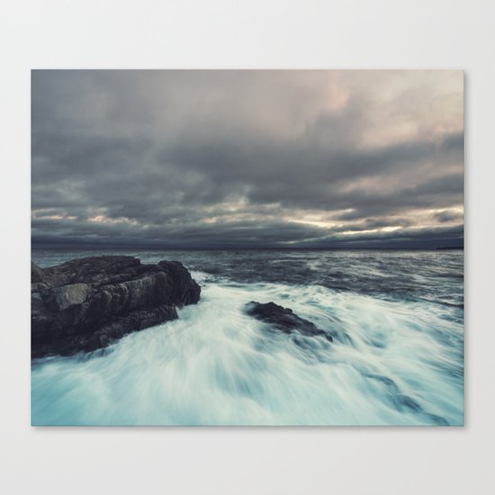 Washed Point Canvas Print