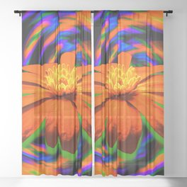 Flurry Sheer Curtain