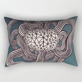 I Don't Know What To Write Here Rectangular Pillow