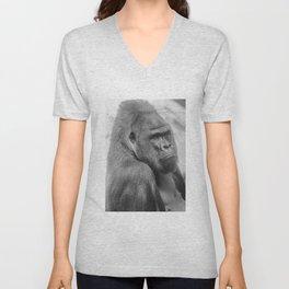 Western lowland gorilla Unisex V-Neck