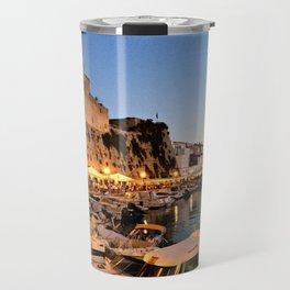 Ciutadella Harbor Travel Mug