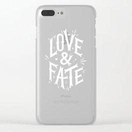 Love & Fate Clear iPhone Case