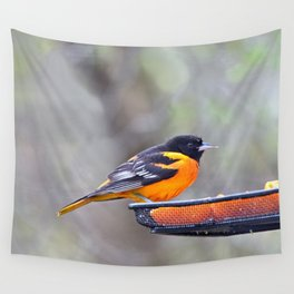 Oranges for the Oriole Wall Tapestry