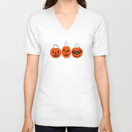 Halloween Magic- Turquoise Unisex V-Neck