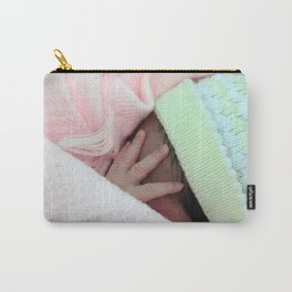 Tiny tiny fingers Carry-All Pouch