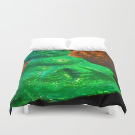 Sheela Na-Gig Duvet Cover