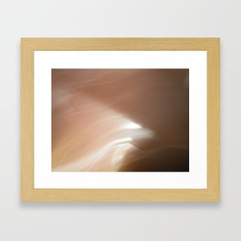 going somewhere? Framed Art Print