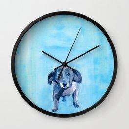 The Dachshund Strut Wall Clock