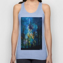 Night in Color Unisex Tank Top