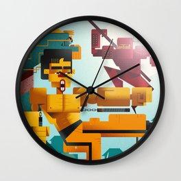 Kung Fu Master Wall Clock