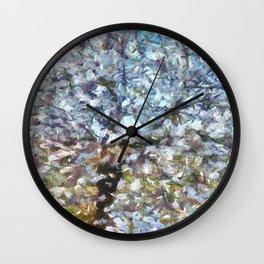 Spring Almond Blossom Wall Clock