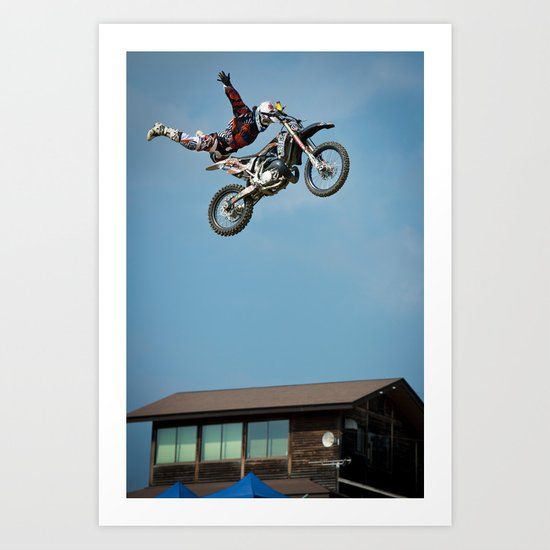 Holy Gonta, FMX Japan Art Print