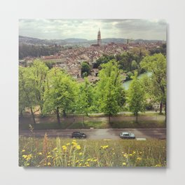 Bern cityscape, Switzerland Metal Print