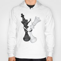 chess Hoodies featuring Chess dancers by GrandeDuc