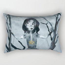 sadness Rectangular Pillow