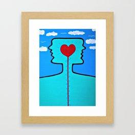 """""""haring"""" Framed Art Print"""