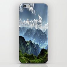 Mountain Peaks in Austria iPhone & iPod Skin