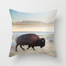 The Anonymous Buffalo Throw Pillow