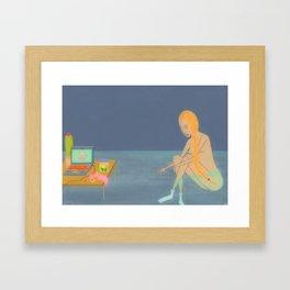 The New Idiot Framed Art Print