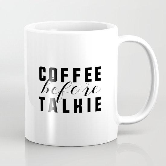 Coffee Before Talkie by littlegoldpixel