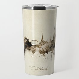 Cheltenham England Skyline Travel Mug